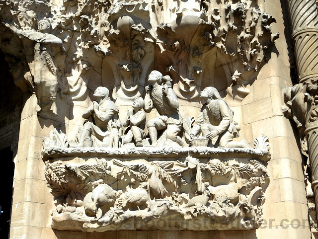 Shepherds & Angels, Sagrada Familia
