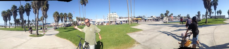 What you've all been waiting for... @beebo_wallace takes Venice Beach #fb