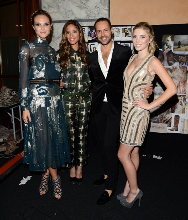 8 Beau Garrett, Kelsey Chow, Massimiliano Giornetti, Claire Julien - Woman Fashion Show SS13 - low res