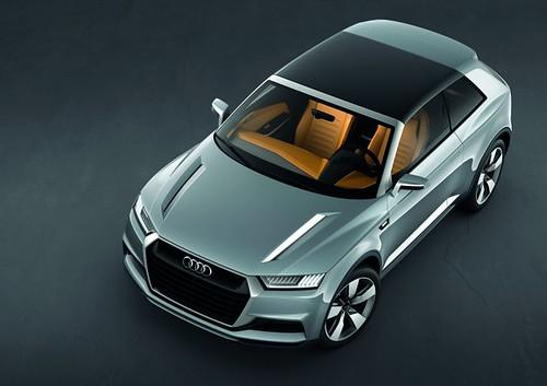 Парижский автосалон 2012: Audi Crosslane Coupe - будущее Q-серии