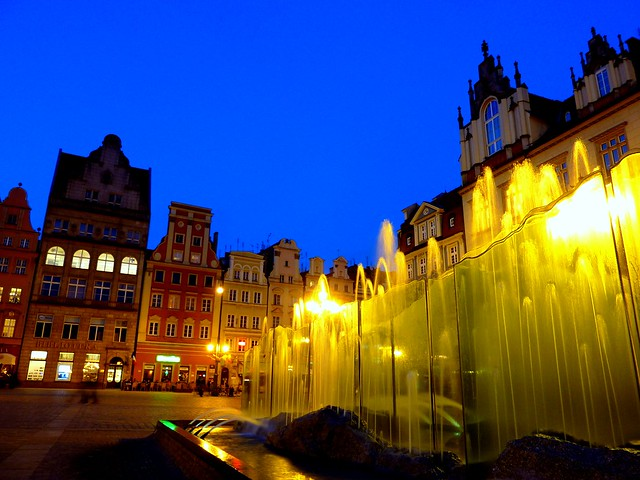 Market square of Wroclaw, Poland