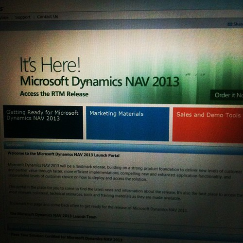 Dynamics 2013 is released!