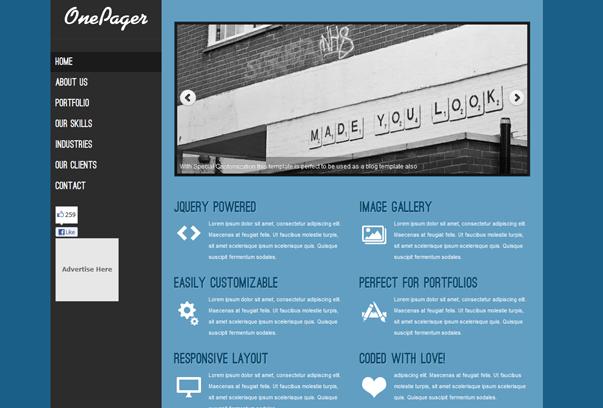 Theme cho trang portfolio tuyệt đẹp