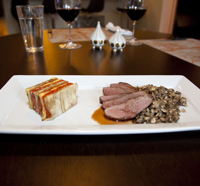 Ratatouille Terrine With Duck-1