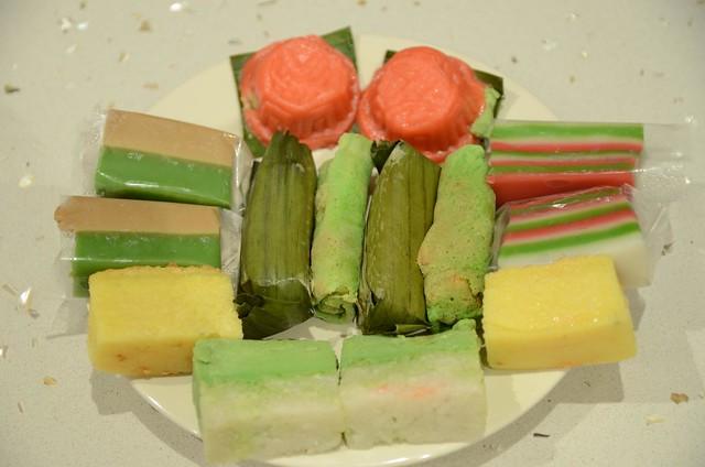 Bengawan Solo Pandan Cake Ingredients