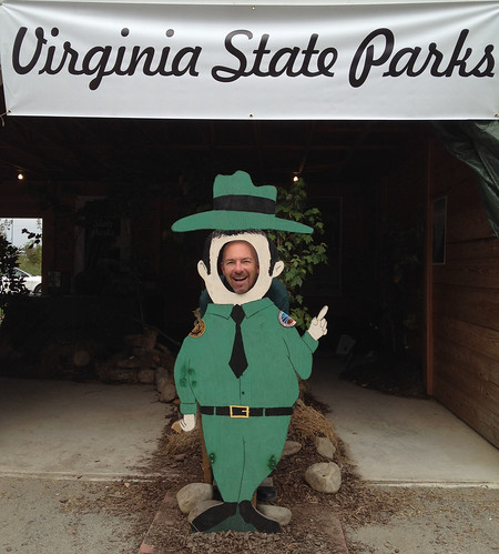Virginia State Parks has an interactive exhibit at Virginia State Fair!