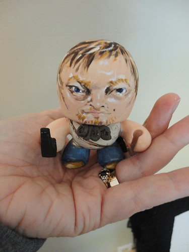 "See how Tiny ""Tiny Daryl Dixon"" is !"