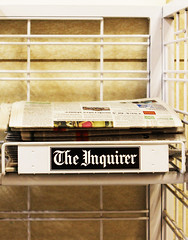 The Inquirer's projects editor, page designer and copy editor all spoke.