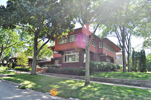 Frank Llyid Wright Style home in Red Wing