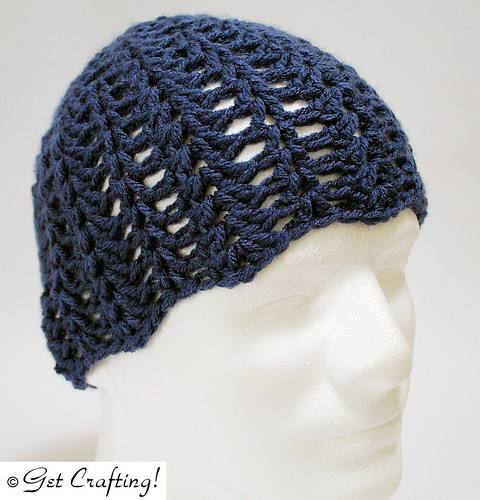 Open lacey hat