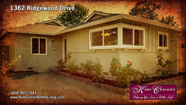1362 Ridgewood Drive Charming Comfortable and Affordable San Jose Home for Sale