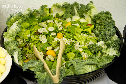 Chrissy & Nathan's Wedding Salad