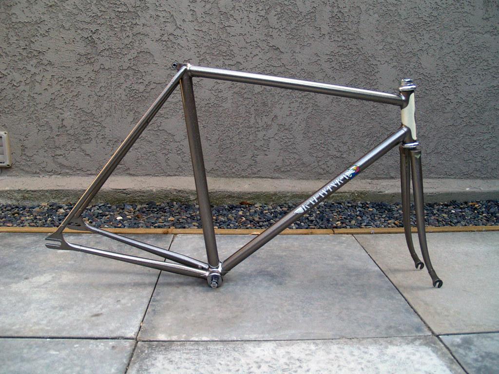 FS: Kalavinka NJS keirin frame, 53 CM. Beautifully restored! - The ...