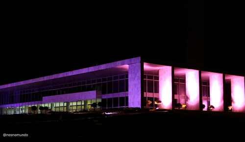 Brasília em rosa