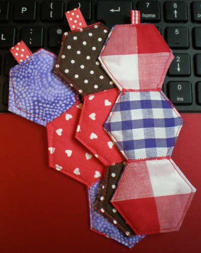 Patchwork Keyfobs
