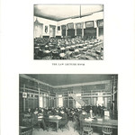 College of Law lecture room and library, The University of Iowa, 1905