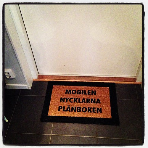 New doormat - love