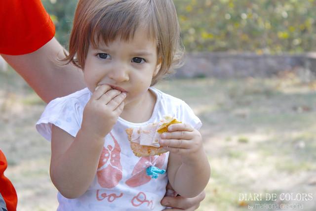 M'estic fent gran...ja menjo com els papes!