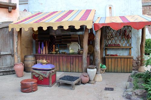 Agrabah market place