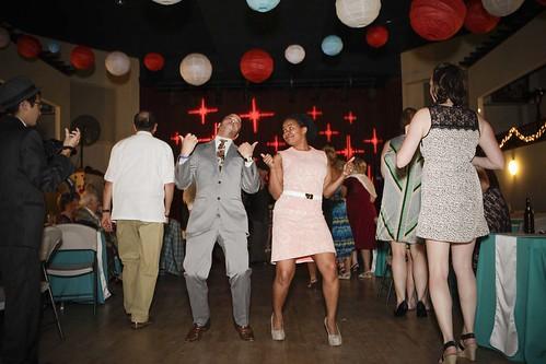 Last dance was a stroll line