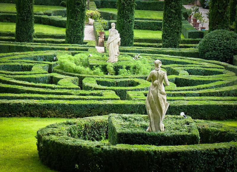 Verona the lovely giardini giusti for Jardines italianos