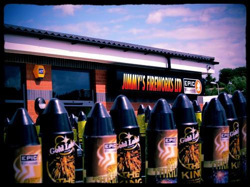 Epic Fireworks Head Office Sheffield, UK.