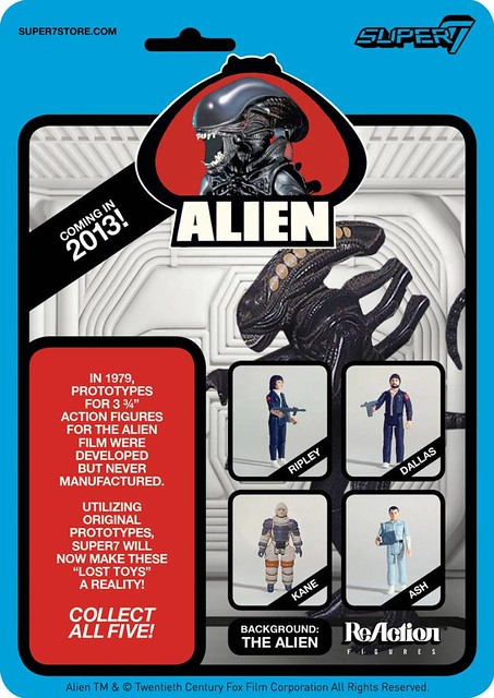 ALIEN ReAction freebie at NYCC (booth 3009)!