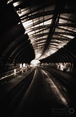 York Station Sepia HDR