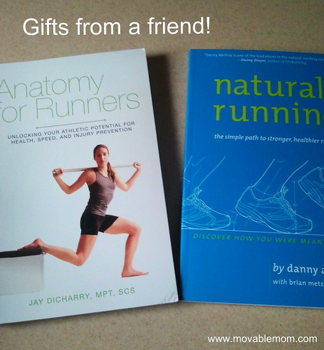Running book gifts from a runner friend!