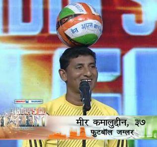 Meer Kamalludin - The football juggler on India's got talent