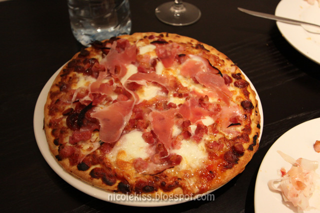 parmaham pizza