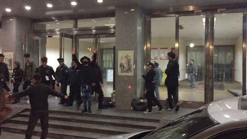 Taeyang Backstage and Leaving Shanghai 2015-01-24 - 011