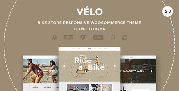 Velo v2.0.2 - Bike Store Responsive Business Theme