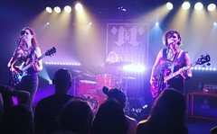 Ex Hex - Mary Timony, Betsy Wright & Laura Harris @ Rock and Roll Hotel, Washington, DC, on Sunday, August 21, 2016