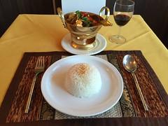 Jasmine Rice with Coconut Milk at Eat Thai, Ely, C…