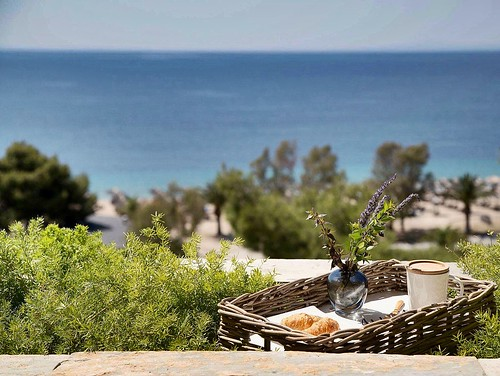 breakfast magnificent view portocarras halkidiki sithonia summer resort nature seaside coffee travelling luxury hospitality summer2016