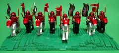 Red Samurai Horsemen