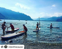 Ride for the Cause in full effect this weekend in Switzerland - sending good vibes and gratitude!