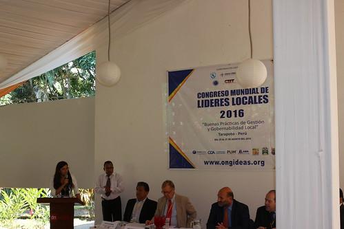 2do Dia: Inauguración, catedras conferencias CONGRESO MUNDIAL 2016 -TARAPOTO