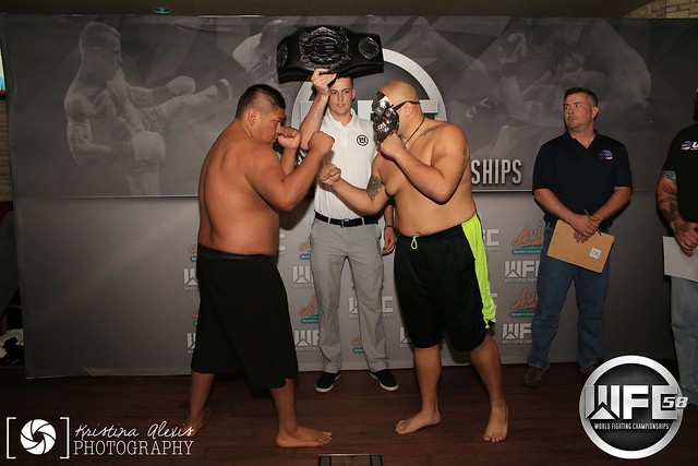 WFC 58 Weigh-Ins Sep 9th,2016 at the AVI