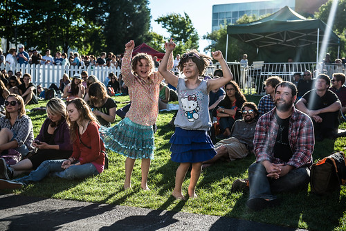 Friday on my mind kexp seattle center present the 2013 for Concerts at the mural seattle