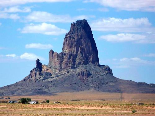 arizona rock neck plug volcanic