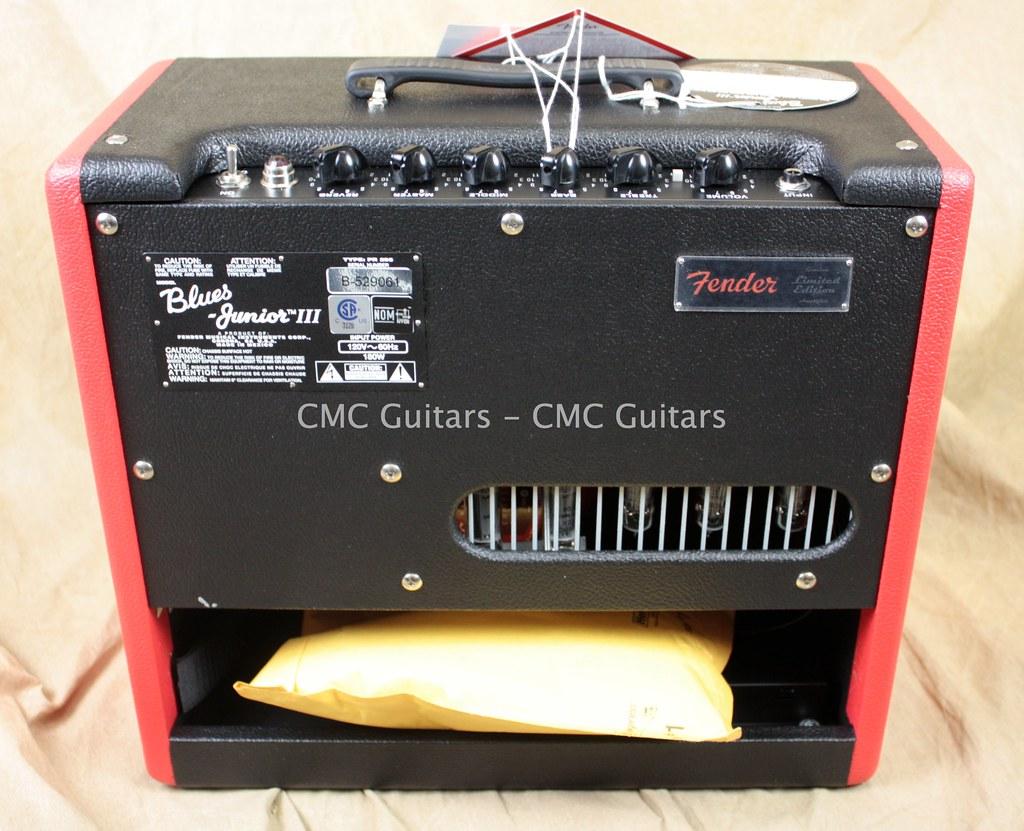 Fender Hot Rod III Blues Junior Red Nova Two-Tone FSR Guit