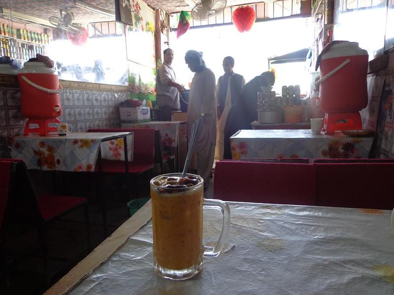 Restaurante no Afeganistão