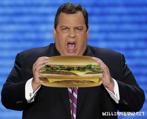 CHRISTIE EATS by Colonel Flick