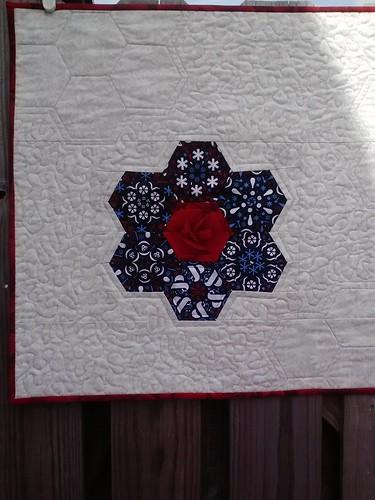 secret garden challenge quilt