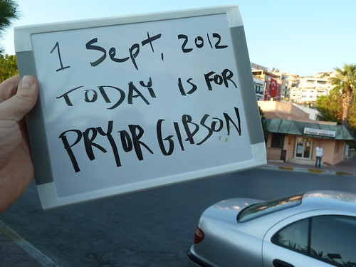 Today is for Pryor Gibson by mattkrause1969