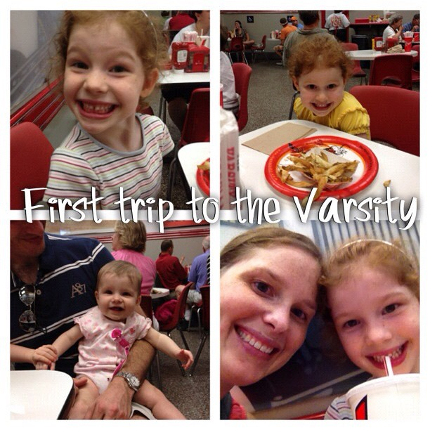 Today we did #atlanta. First @zooatl then @varsitydrivein for the first family trip.