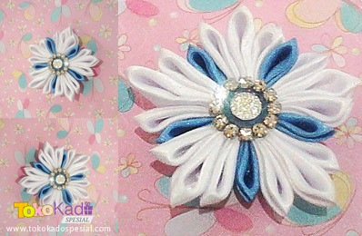 Amazing Snow Angel Kanzashi