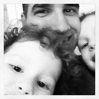 So glad my girls have such an awesome #father and role model in their lives. #fmsphotoaday day 2.
